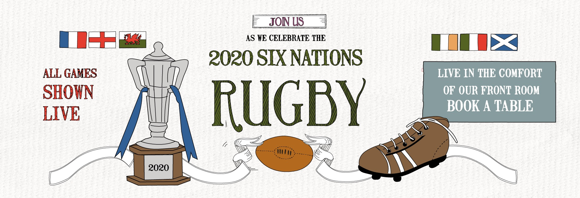 Six Nations at The Bolton