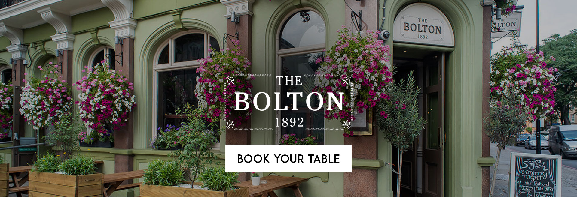 Book Your Table at The Bolton